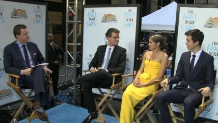 John Green, Shailene Woodley, Ansel Elgort