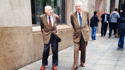 You probably can't pull off a brown suit. #fashiongrandpas #courtesyof5thavenue