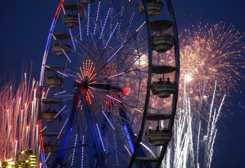Image: Fireworks in Las Vegas