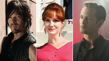 """Walking Dead,"" ""Mad Men"" and ""True Blood"""