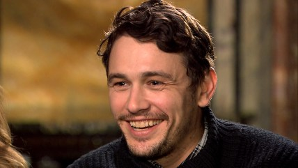 "James Franco speaks about the Broadway show ""Of Mice and Men."""