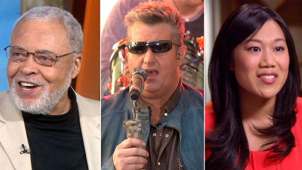 James Earl Jones cracks a joke, Rascal Flatts rock the plaza and Priscilla Chan gives her first TV interview.