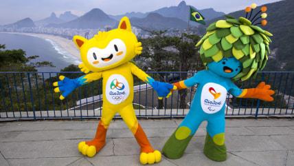 The Rio 2016 Mascots