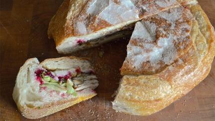 Stuffed Turkey Sandwich