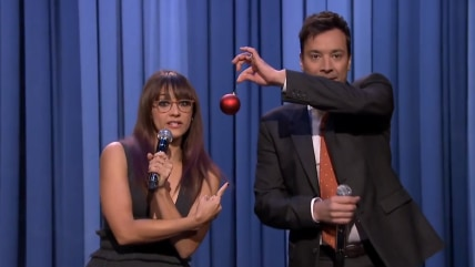Rashida Jones on The Tonight Show