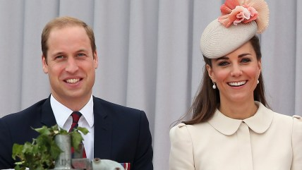 Prince William, Duke of Cambridge and Catherine, Duchess of Cambridge attend a WW1 100 Years Commomoration Ceremony.