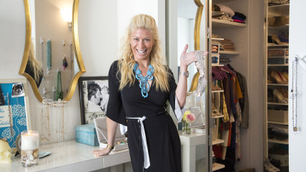 Image: Style expert Jill Martin gives a tour of her New York City apartment