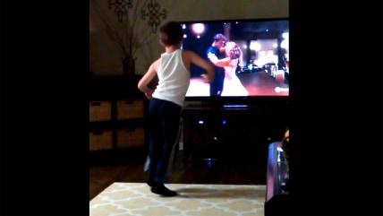 """Little Charlie dances to """"Dirty Dancing"""""""