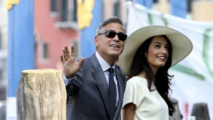 Image: George Clooney and Amal Alamuddin