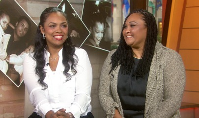 Muhammad Ali's daughters Hana (left) and May May told Matt Lauer on TODAY Thursday that their father is doing fine despite reports of declining health.
