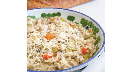 Kris Jenner's hearty chicken soup
