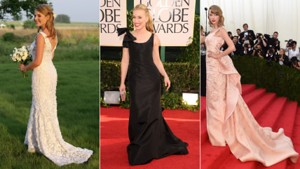 Oscar de la Renta dresses on celebs
