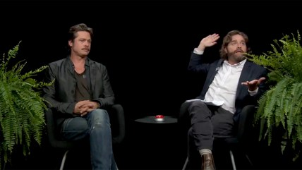 Brad Pitt, Zach Galifianakis
