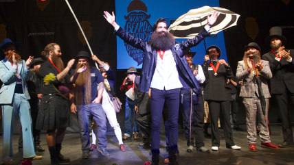 IMAGE DISTRIBUTED FOR JUST FOR MEN - The Just For Men World Beard and Moustache Championships crowned 18 title winners, highlighting the best and bold...