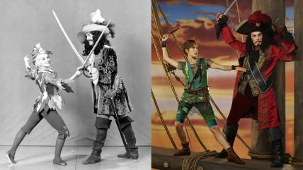 Peter Pan and Hook