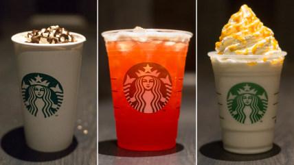 """Three drinks from Starbucks' """"secret"""" menu"""