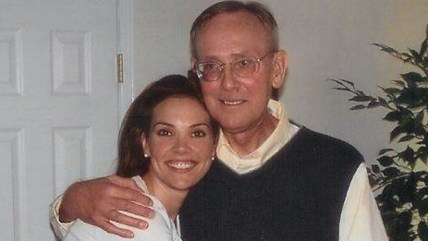 Image: Erica Hill and her father