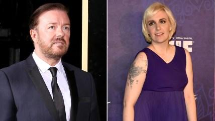 Ricky Gervais, Lena Dunham