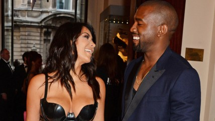 Image: Kim Kardashian and Kanye West