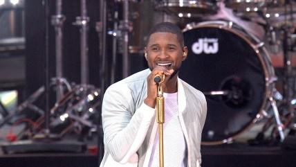 Image: Usher on TODAY