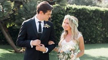 IMAGE: Ashley Tisdale wedding
