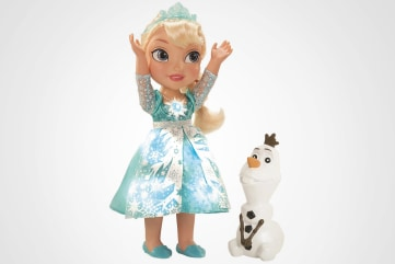 The Disney Frozen Snow Glow Elsa Doll is expected to be one of the hottest toys for this year's holidays.