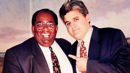 Al Roker and Jay Leno in 1992.