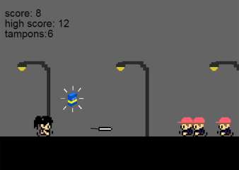It's the tampon-themed video game you never knew you needed but will find strangely addictive.