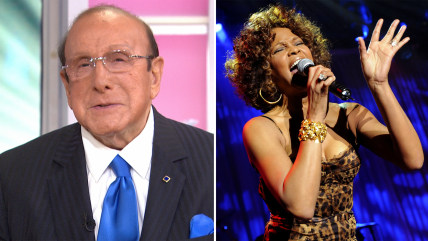 Clive Davis, Whitney Houston