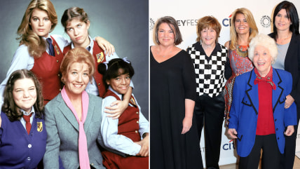 Image: Facts of Life stars