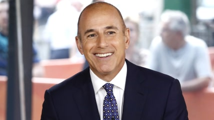 "TODAY -- Pictured: Matt Lauer appears on NBC News' ""Today"" show -- (Photo by: Peter Kramer/NBC/NBC NewsWire)"