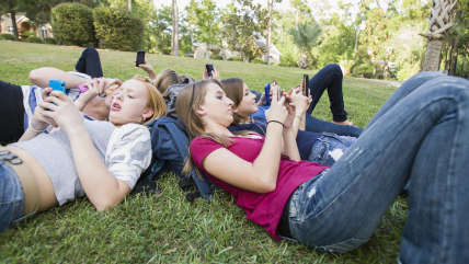Teens will text...but should they text their teachers?