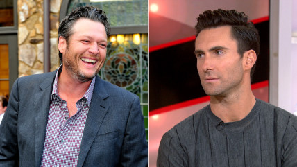 Image: Blake Shelton and Adam Levine
