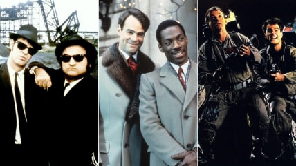 """""""Blues Brothers,"""" """"Trading Places,"""" """"Ghostbusters."""""""