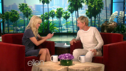 Image: Anna Faris and Ellen DeGeneres