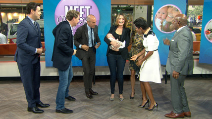 Surprise! Savannah and Vale stun TODAY anchors with a visit.