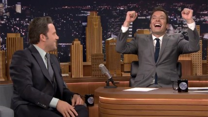Ben Affleck, Jimmy Fallon