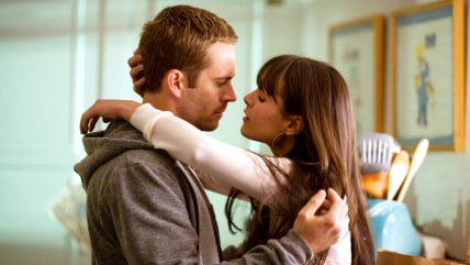 Paul Walker stars as Brian O'Conner and Jordana Brewster stars as Mia Toretto in Universal Pictures' Fast and Furious (2009)