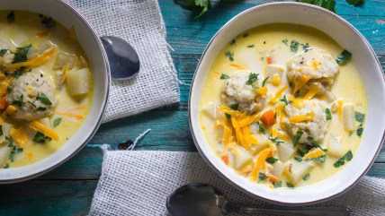 matzo ball potato chowder
