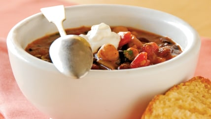 Three-Bean Chili from Cooking Light