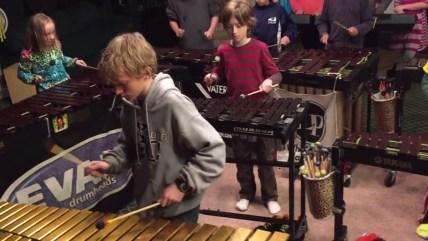 Led Zeppelin on xylophones