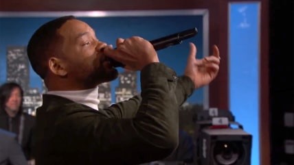 "Will Smith Performs ""Summertime"" on Jimmy Kimmel Live."