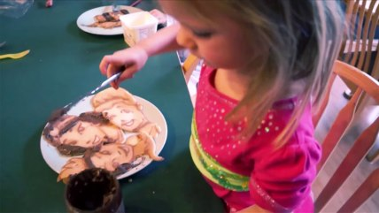 princess pancakes tease