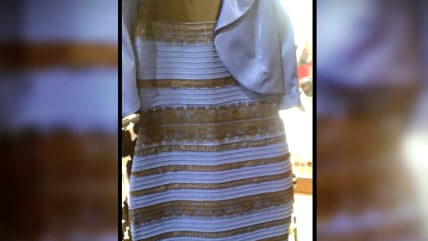 For the company behind the chromatically ambiguous dress that went viral on Friday morning, it's all green.