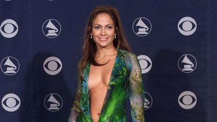 Jennifer Lopez backstage at the 42nd Annual Gra