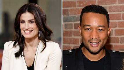 Idina Menzel and John Legend will sing America's songs at Super Bowl XLIX.