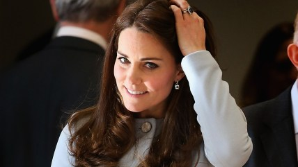 Catherine, Duchess of Cambridge visits the new Kensington Leisure Centre on January 19, 2015 in London, England.