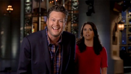 Image: Blake Shelton and Cecily Strong
