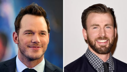Chris Pratt, Chris Evans