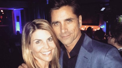 Image: Lori Loughlin and John Stamos